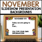 November Google Slides™ Templates