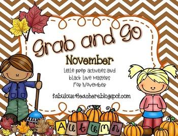 November Grab and Go