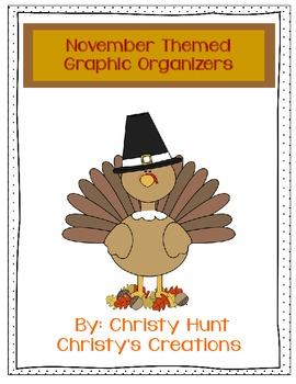 November Graphic Organizers