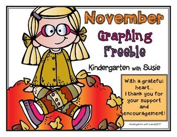 November Graphing Freebie
