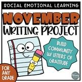 November Grateful Writing Project
