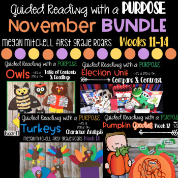 November Guided Reading with a Purpose