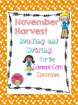 November Harvest Reading and Writing Prompts