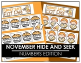 November Hide and Seek - Numbers Edition
