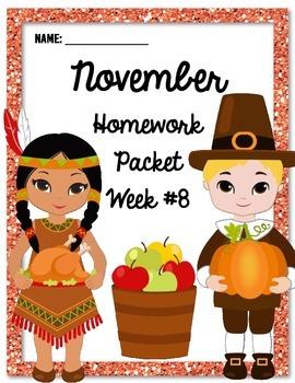 Homework Packet 8
