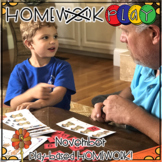 Homework PLAY Activities for November by Kim Adsit and Ada