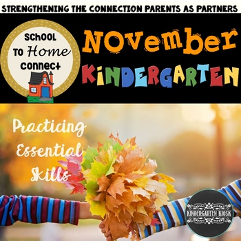 November Homework Packet--Kindergarten