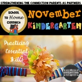 School To Home Connect Kindergarten November Homework