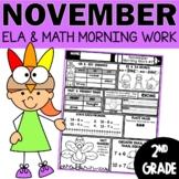 November Morning Work or Homework