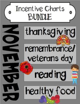 November Incentive Chart BUNDLE