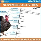 November Independent Learning Module (ILM) Seasonal Intern