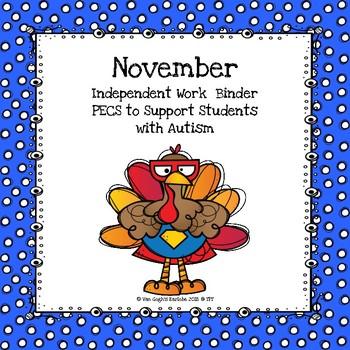 Bundle November Independent Work Binder