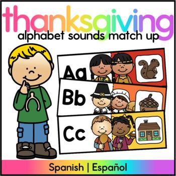 November Literacy Center Spanish/ Centro de Sonidos Iniciales Noviembre