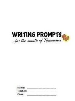 November Journal Writing Prompts