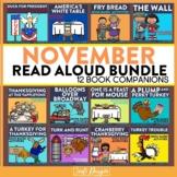 November Interactive Read Aloud Book Companion Bundle