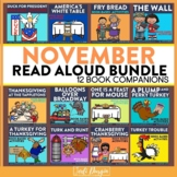 November Interactive Read Aloud Book Companion Bundle