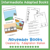 November Intermediate Adapted Books