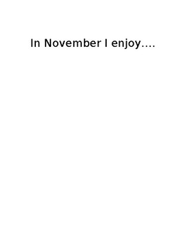 November Journal Ideas