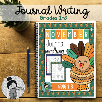 Writing prompts 2nd Grade and 3rd Grade (November)