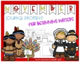 November Journal Prompts for Beginning Writers