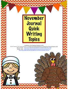 November Journal Quick Writes