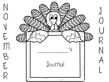 November Sight Word Journal