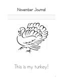 November Journal for Morning Work