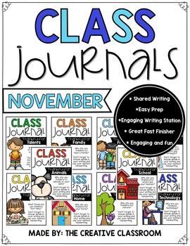 November Journals