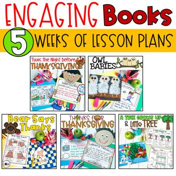 November K-1 Bundle: Interactive Read-Aloud Lesson Plans Curriculum
