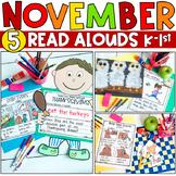 November K-1 Bundle: Interactive Read-Aloud Lesson Plans C