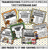 November K-2 Bundle {Everything But the Kitchen Sink!}