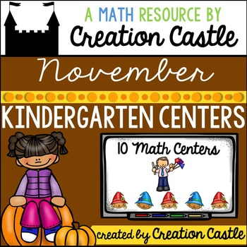 November Kindergarten Centers - Math