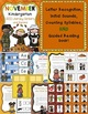 November Kindergarten Literacy Centers CCSS Aligned
