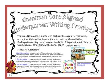 November Kindergarten Writi... by Mrs Fielding's Favorites ...