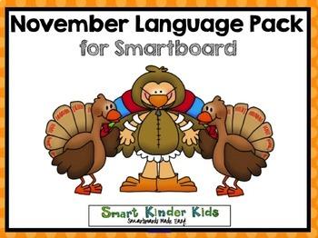 November Language Pack for Smartboard