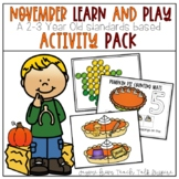 November Learn and Play Toddler Activities