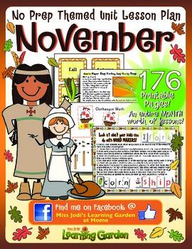 November Learning Fun