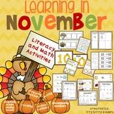 Thanksgiving November:  Learning in November