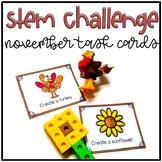 November Stem Challenge using LEGO bricks