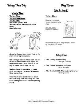 November Lesson Plans Series 1 [Four 5-day Units]