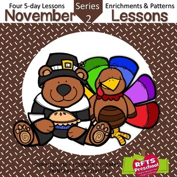 November Lesson Plans Series 2 [Four 5-day Units]