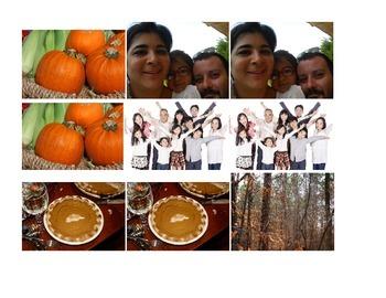 November Lesson Plans, Thanksgiving Theme, 2 Weeks