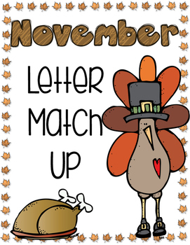November Letter Match Up