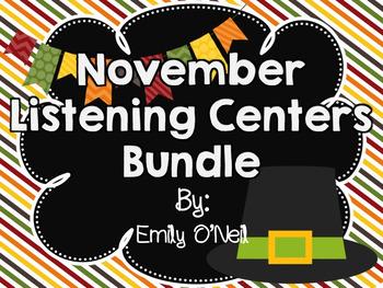 November Listening Centers Bundle