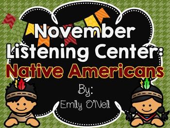 November Listening Centers - Native Americans