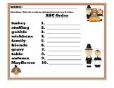 November Literacy Bundle