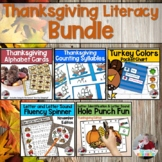 November Literacy Bundle- 5 Products Just Right For Your E