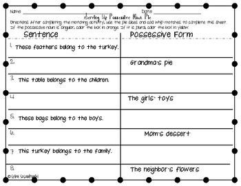 November Literacy Centers