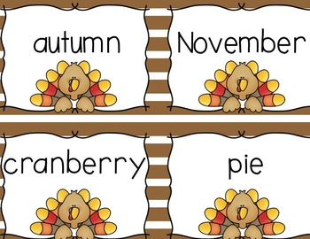November Literacy Centers {Common Core Aligned for 2nd and 3rd Grade}