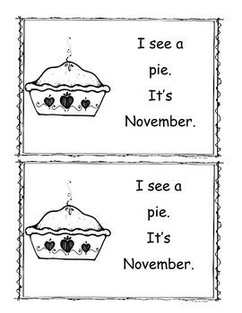 November Little Reader/Emergent Readers